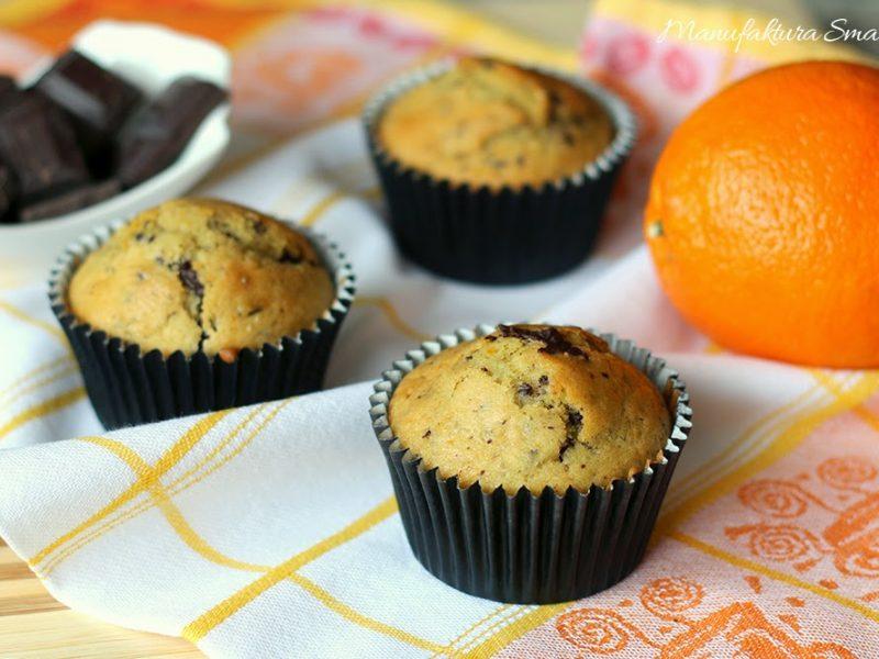 Pomarańczowo-czekoladowe babeczki