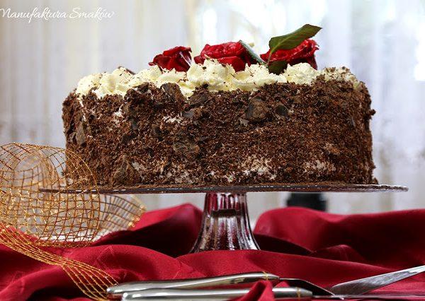 Różany tort dla Mamy