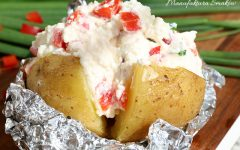 Faszerowany kartofelek