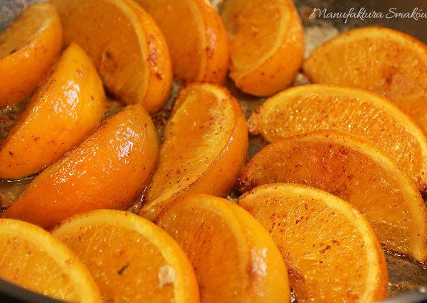 Smażone pomarańcze