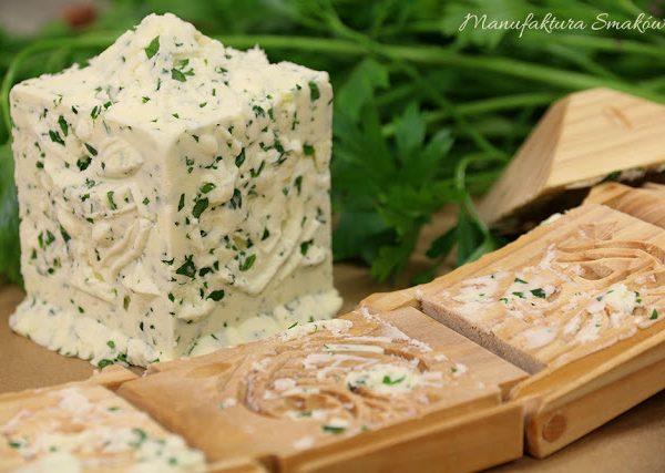 Solone masło pietruszkowo - czosnkowe