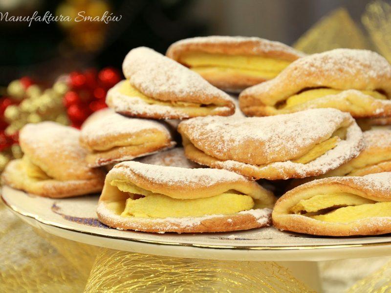 Maślane ciasteczka z jabłkami