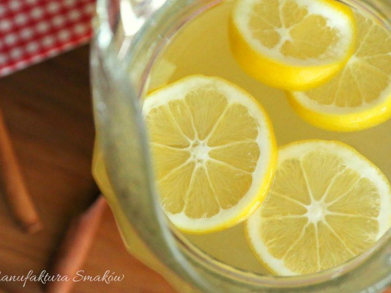 napój imbirowo - cytrynowy