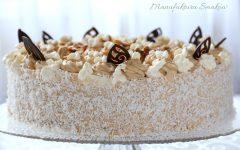 Tort waniliowo - kajmakowy