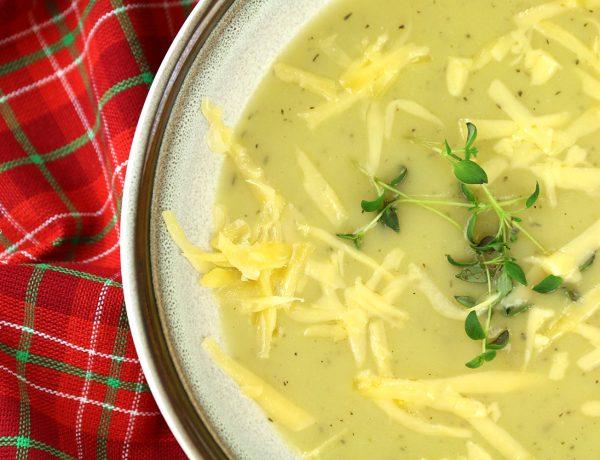 Zupa krem czosnkowy - zupa czosnkowa.