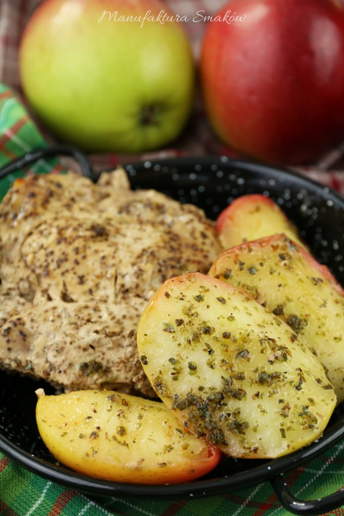 Jabłka w majeranku do mięs