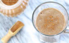 Bananowo - kawowy koktajl śniadaniowy