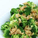Brokuły z migdałami