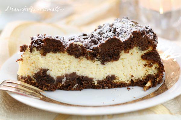 Sernik waniliowo - czekoladowy