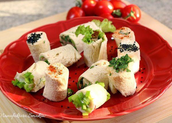 Tostowe sushi